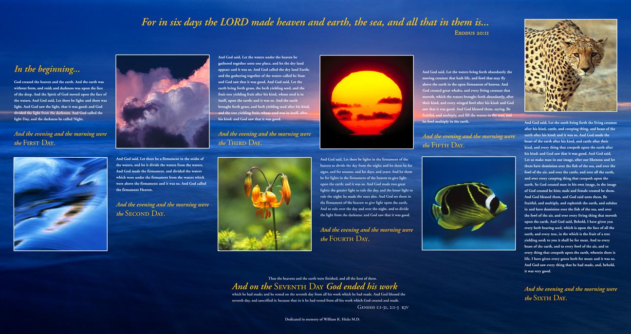 Unscientific Genesis Creation?